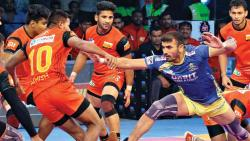 Kashiling's super raid helps Bengaluru win Southern derby
