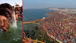 1.4 crore people take dip as Kumbh Mela begins - and a centuries old ritual continues