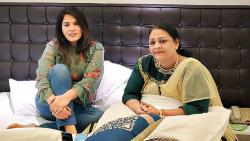 Richa Chadha meets the real Shakeela ahead of the film's shoot