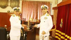 Change of command at INS Shivaji