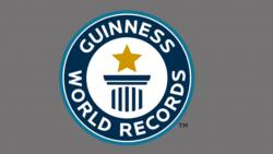 Spreading peace message gets recognition in the Guinness Book of Records