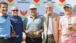 Ikram Khan wins Silver Div title with a card of 78