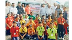 Vaccination camp held at New Dale School