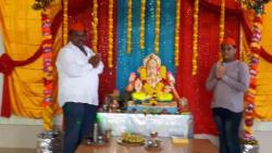 Shaikh family celebrates Ganesh festival with zeal
