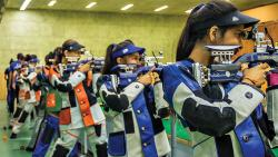 Shooters have their sight set on target during the selection camp of Project Leap