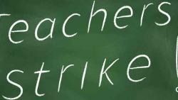 Moderate response to varsity, college teachers' strike in city