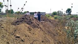 The PMC has filed an FIR against a contractor for blocking the nala with debris in Sayyednagar