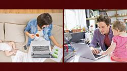 The home-work juggle