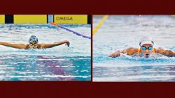 Apeksha, Kenisha give Maha flourish in pool