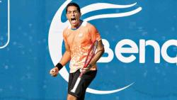 Egyptian Hossam outlasts top seed Albot at Bengaluru Open