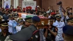 Atal Bihari Vajpayee cremated with full military honours