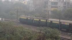 Misty Saturday morning in Delhi, 49 trains delayed