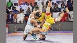 Puneri Ustad are Kusti Dangal champions