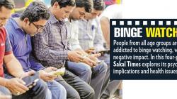 Binge watching can cause depression