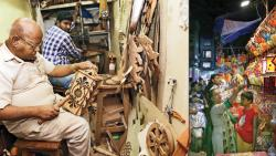 Customised wooden lanterns create a buzz in the market this Diwali festival
