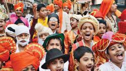 Gudhi Padwa procession organised by HNYWC