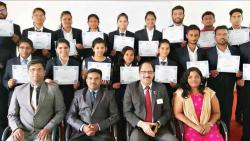 Navsahyadri distributes X-Culture certificates