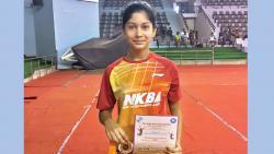City's Tara Shah is No 1 ranked midget girl