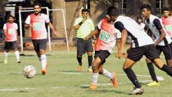 Sangavi FC, Deccan XI win opener in VOBA Invitational football