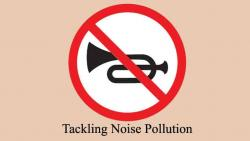 'No Horn Day' in city today