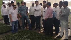 Egyptian delegation visits Agrowon Smart Village