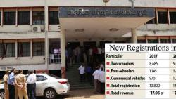 RTO earns Rs 25.2 cr from sale of vehicles