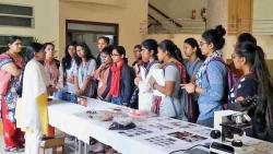 Students show keen interest in cancer research during Open Day at NCCS
