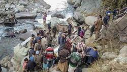 13 killed as bus falls into gorge in J-K's Poonch district
