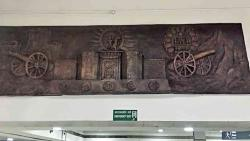 Maha art now on display at Pune airport
