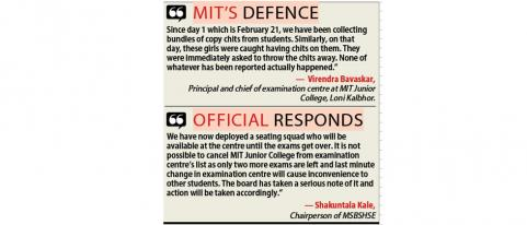 MIT cries foul over allegation of strip search before exam