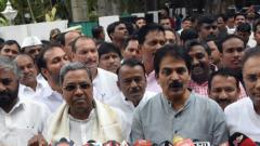 Cong to seek disqualification of MLAs who have resigned