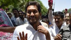 Jaganmohan Reddy sworn in as Andhra Pradesh CM