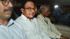 INX Media case: CBI starts questioning Chidambaram