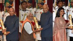 President confers Padma awards on 47 'inspiring' personalities