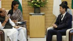 India committed to defence ties with Japan: Rajnath Singh