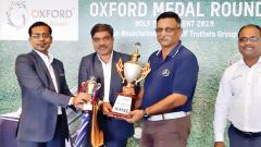 Ageshkar wins first title of new concept golf