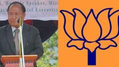Hiphei resigns as Mizoram speaker, joins BJP