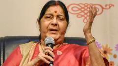 Kartarpur corridor not connected with dialogue with Pak: Sushma Swaraj