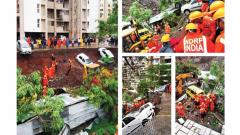 15 persons killed after compound wall collapse in Kondhwa