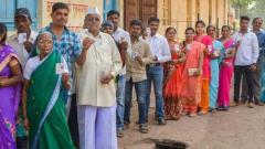 60 pc & 59 pc voting for Maval and Shirur seats