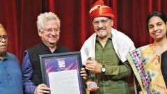 Filmmaker Amol Palekar honoured as 'Zenith Asia' in 9th Asian Film Festival