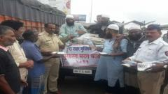 Dist admin, NGOs launch material collection drives
