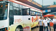 MSRTC fans put together museum on wheels depicting history of buses