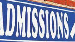 Rains push ahead admissions dates