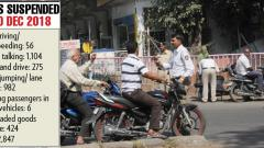 Use of mobile major traffic violation