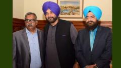 Sidhu assailed after pro-Khalistan leader shares photo with him on social media