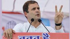 Modi has defamed all 'chowkidars' in India: Rahul Gandhi