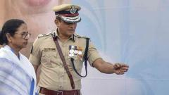 Centre tells Bengal government to take disciplinary action against Kolkata Police chief
