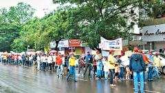 Rally on spreading awareness about eggs and chicken held