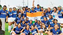 Indian women's rugby team makes history